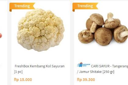 Tips Membeli Sayur Online yang Segar dan Berkualitas