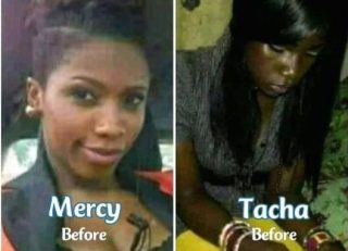 {PHOTO} See How Tacha And Mercy Looked Before The Help Of Bleaching Cream