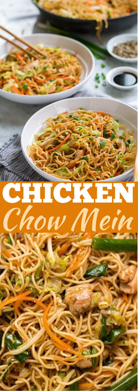 Chicken Chow Mein #dinner #chinese