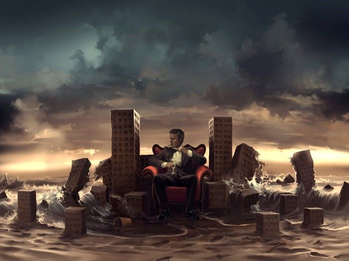 Потусторонние картины. Cyril Rolando