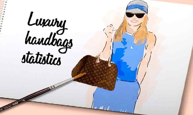 luxury Handbag Statistics #infographic
