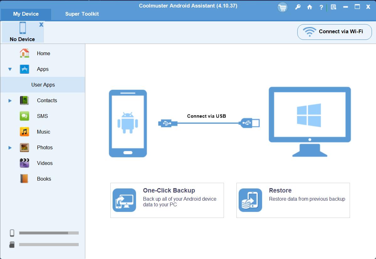 برنامج Coolmuster Android Assistant ... أفضل برنامج لمستخدمي أندرويد