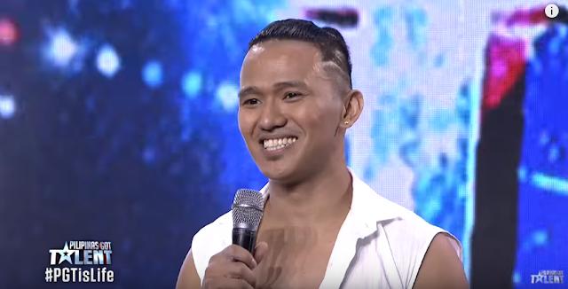 MUST WATCH: A Cirque du Soleil-like Pole Dancing Performance Of Johhny Villanueva In PGT!