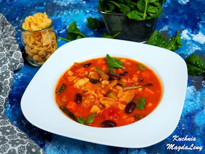 Minestrone zupa