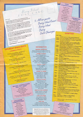 Barry Island Resort 1995 Information & Entertainment Guide