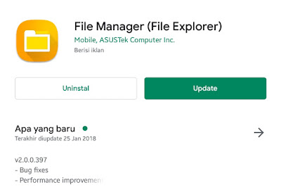 Download Aplikasi File Manager (File Explorer) Versi Lama (Lawas)