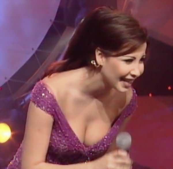 Nancy ajram pussy and tits remarkable, very