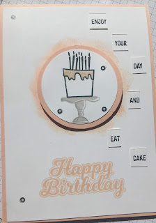 Blow Out The Candles Birthday Card at Coffee and Cards