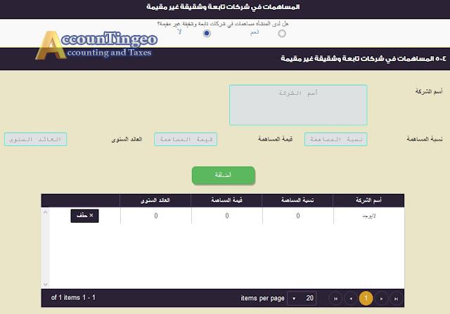 ضريبة الدخل الشركات المؤيد بحسابات | بوابة الضرائب المصرية شرح اقرار ضريبة الدخل للشركات المؤيد بحسابات