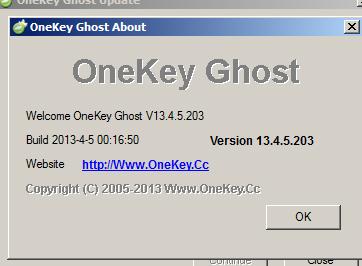 onekey ghost win 7 2018
