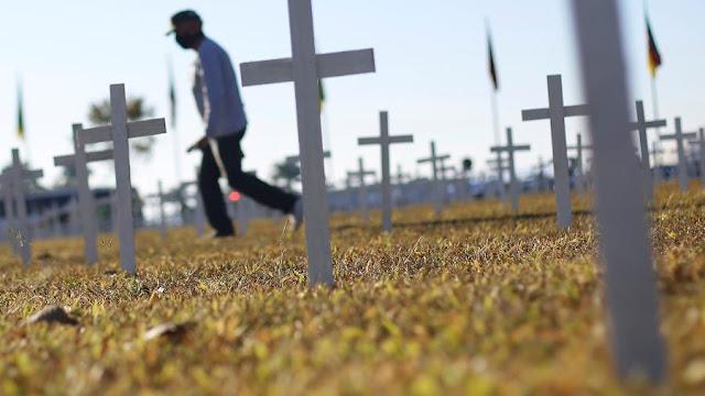 Brasil registra mais de 60 mil mortes por Covid-19