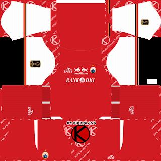 Persija Jakarta Kits 2019 Piala Presiden - Dream League Soccer Kits