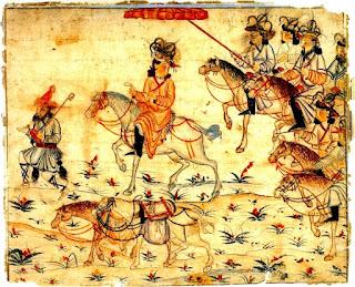 Marco Polo en el ruta de la seda.