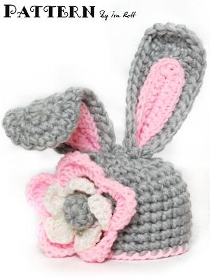 Fashion Crochet Design By Ira Rott Crochet Bunny Hat With