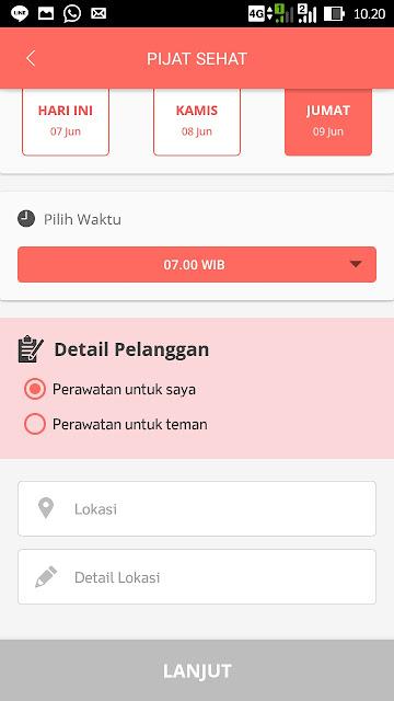 review aplikasi muztreat mobile syari'ah treatment di jabodetabek sensasi salon muslimah di rumah tinggal klik