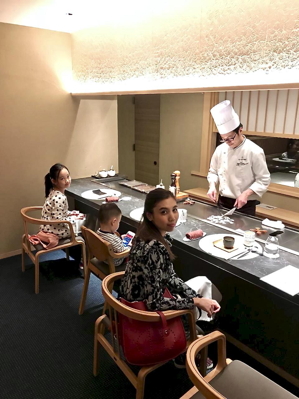 Dinner at Mouriya Gion, Kyoto