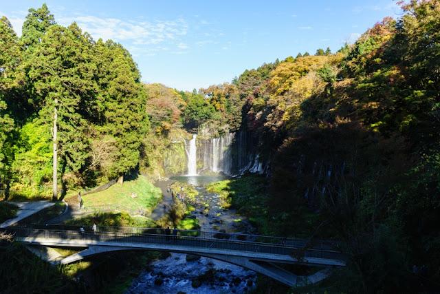 白糸の滝(静岡)