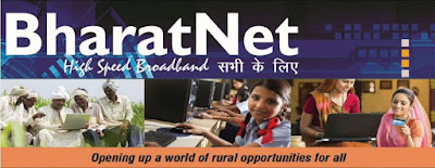 BharatNet got cabinet Approval and Priority gap which about 19,000 Thousand Crore, Which was load In India's 16 State, India the Villages is About 16lakhs which was connected through Broadband.