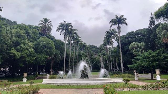 O Jardim do Palácio Guanabara