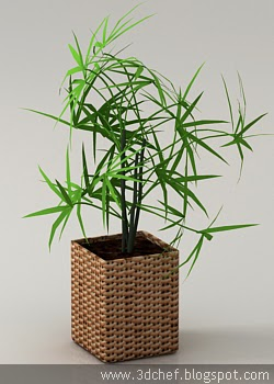 bamboo 3d model free