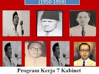 [Lengkap] Program Kerja 7 Kabinet Demokrasi Liberal Indonesia