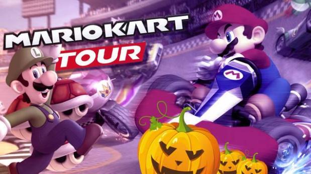 A Nintendo renova os desafios e copas de Mario Kart Tuor com a temporada dedicada ao Halloween. Além disso, adiciona novos personagens, circuitos e elementos para a loja.