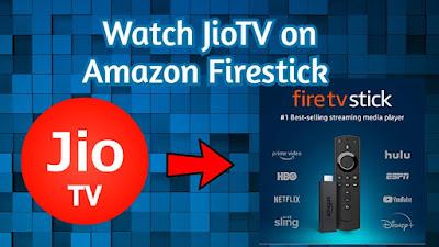 JioTV on Firestick