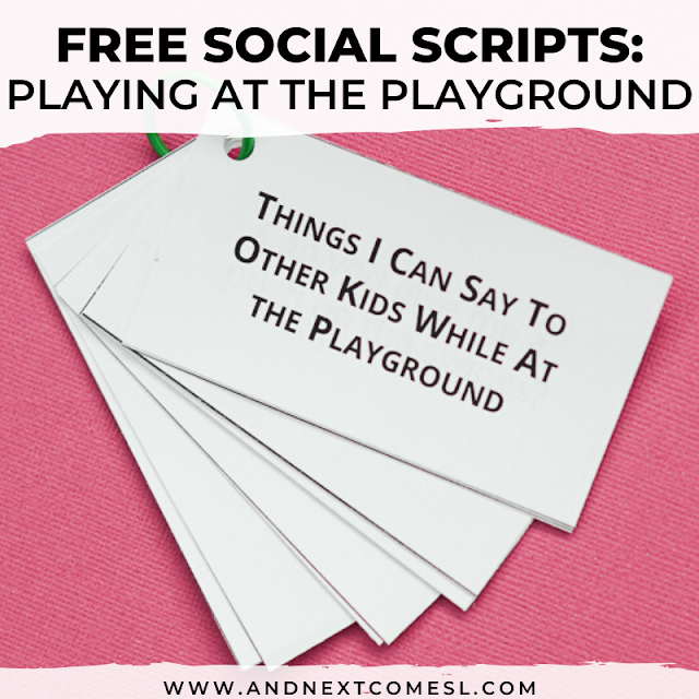 Social scripts for kids