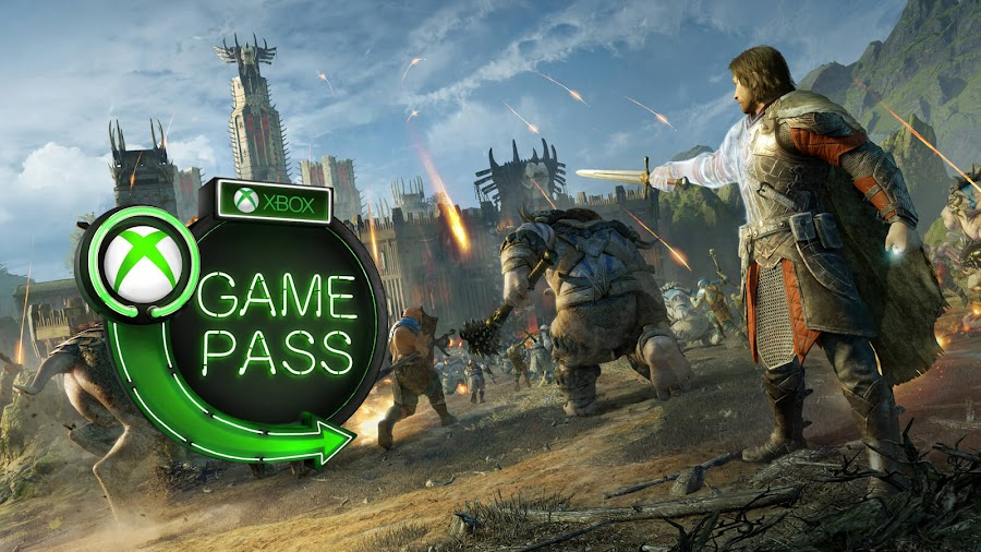 xbox game pass 2019 middle earth shadow of war xb1