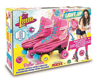 DISNEY Soy Luna - Light Up : Patines con luz | Roller Stake Training | Giochi Preziosi 2017 | SERIE TELEVISION | CAJA