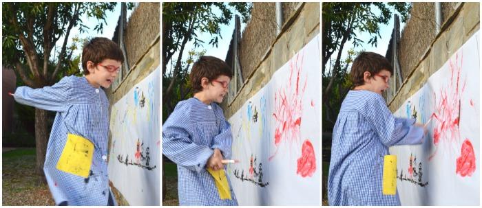 Expresar emociones a partir de música, pintura y cuentos. Educación emocional. Pintando la rabia