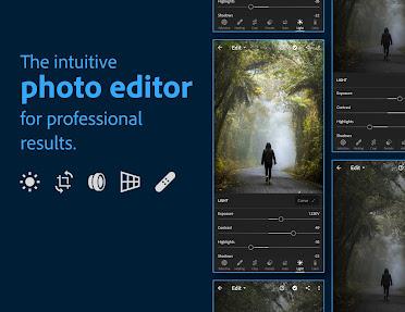 Adobe Lightroom - Photo Editor & Pro Camera Download