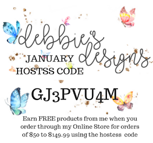 January 2019 Hostess Code. Use at checkout to earn FREE Stampin' Up! products from me!