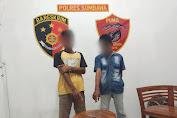 Tim Puma Polres Sumbawa Amankan Terduga Pencuri dan Penadah