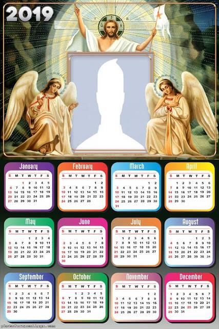 Jesus 2019 Free Printable Calendars.