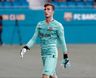 Inaki Pena to be promoted to Barcelona first team due to Ter Stegen Surgery