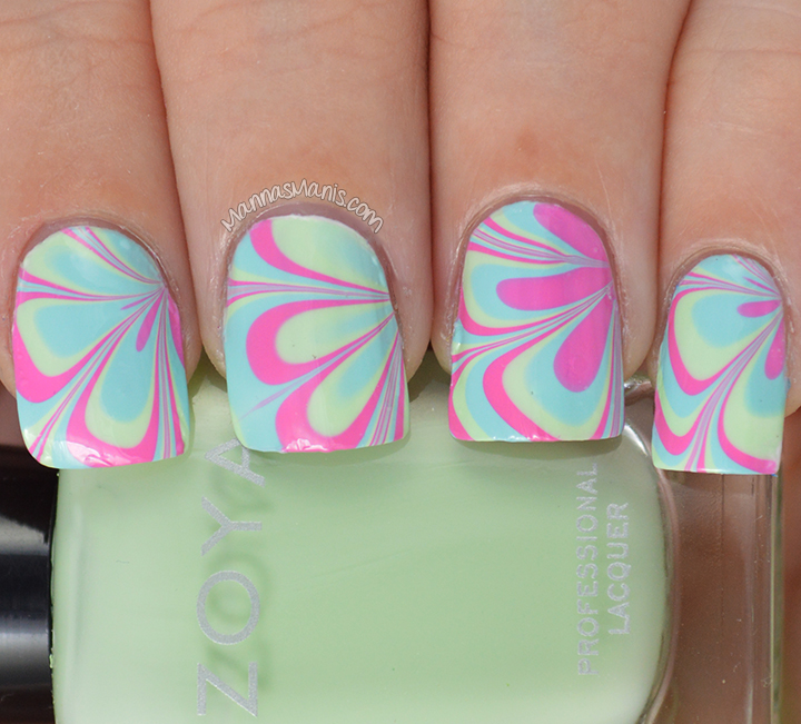 Zoya Delight watermarble