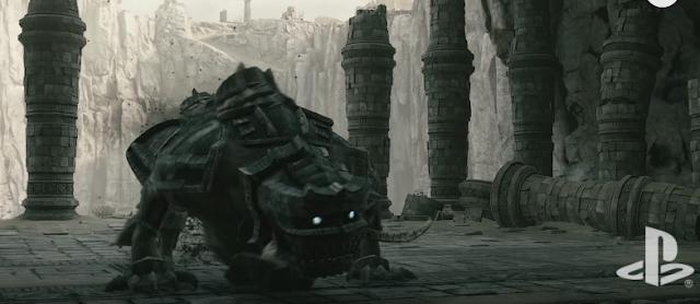 Crafteando un coloso de Shadow of the Colossus