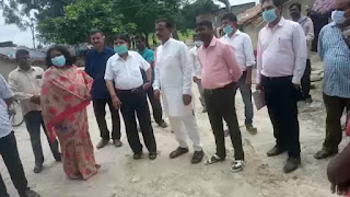 #JaunpurLive : बरसठी में फूड प्वाइजनिग से चार की मौत, सीएमओ ने किया दौरा
