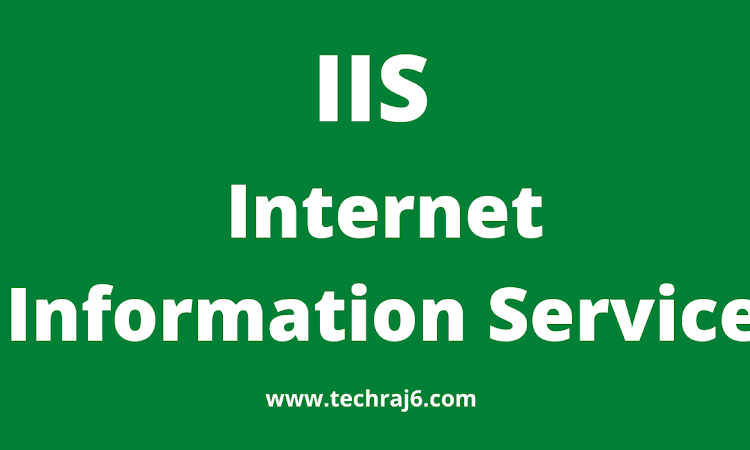 IIS full form, what is the full form of IIS