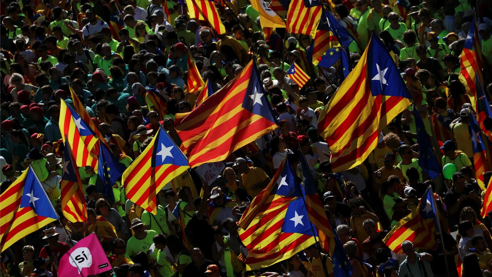 ✓ Catalan independence referendum, October 1, 2017