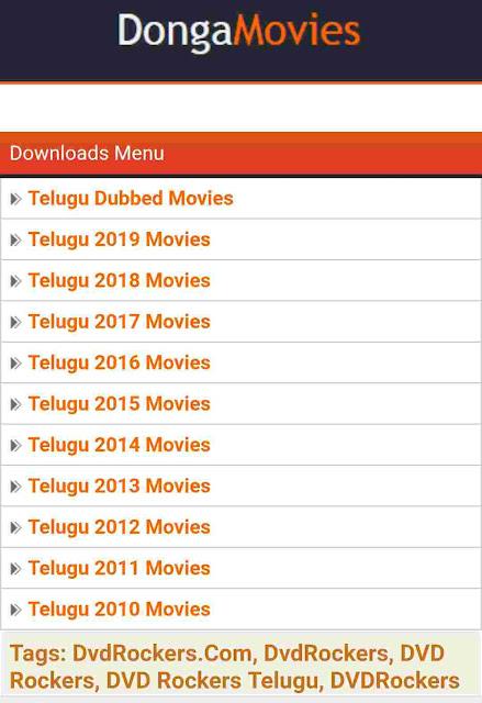 Dvd rockers 2019: Download tamil, telugu, malayalam movies