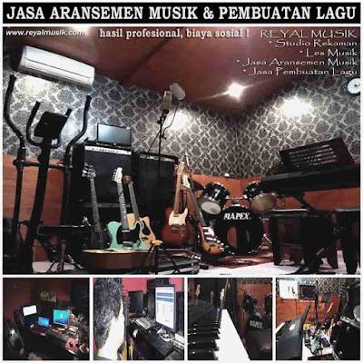 Studio Rekaman, Jasa Aransemen Lagu / Musik Jakarta, Biaya Murah, Hasil Profesional
