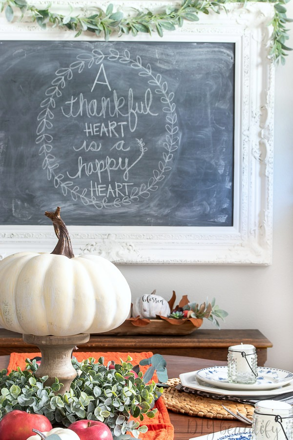 thankful chalkboard quote