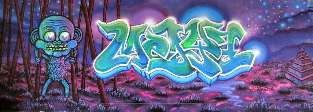 Medya Colorz Graffiti Pieces Walls