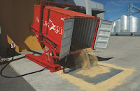 container unloader grains by A-Ward