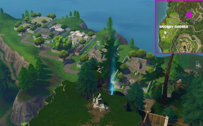 Timed Trial Locations, Fortnite, Snobby Shores