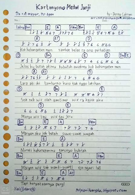 Chord Lagu Kartonyono Dari G : chord, kartonyono, Lirik, Caknan, Kartonyono, Medot, Janji, Arsia
