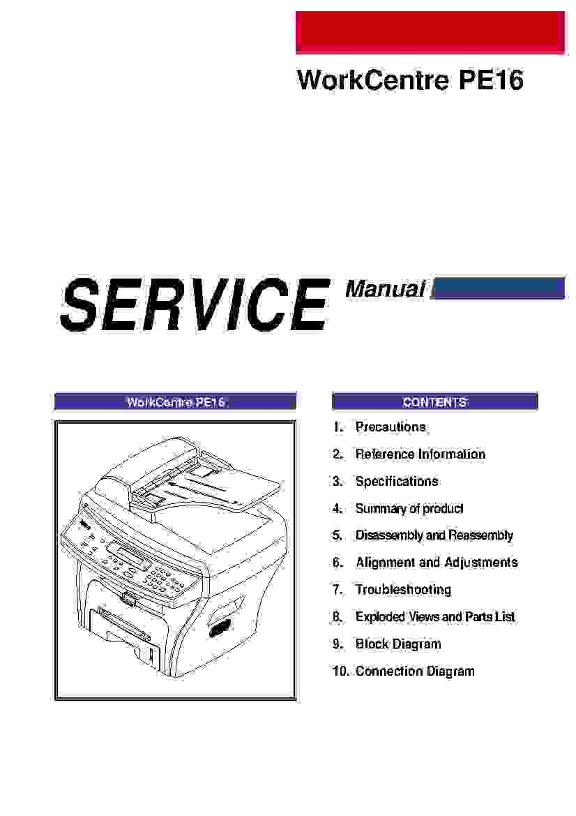 Service Manual For Xerox 5017 Hyundai Santro Wiring Diagram Pdf Workcentre Pe16 Printer And Rh Printer1 Blogspot Com