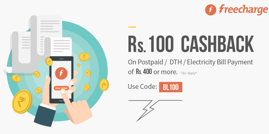 Freecharge Offers, Promo Codes